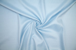 "Silk ""Oxford"" Broadcloth - Light Blue"