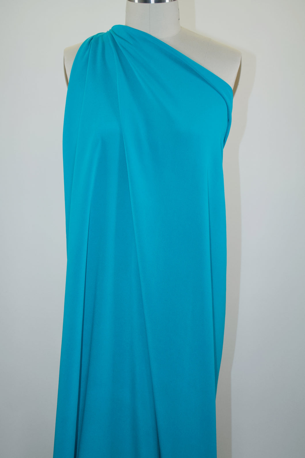 Bets3y J0hnson Stretch Silk Crepe - Bluebird
