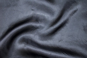 Satin Faced Organza - Black