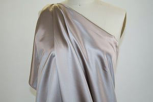 Wide Italian Silk Satin - Rose Dust