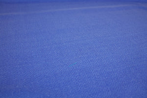 Herringbone Tweed Silk Suiting - Periwinkle Blue