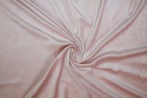 Splendid Designer Stretch Velour - Lotus Pink