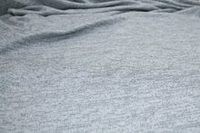 Glisten, Did You Hear? Sweater Knit - Grays/Silver/White