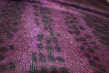 Italian Wool/Mohair Airy Sweater Knit - Purples/Black