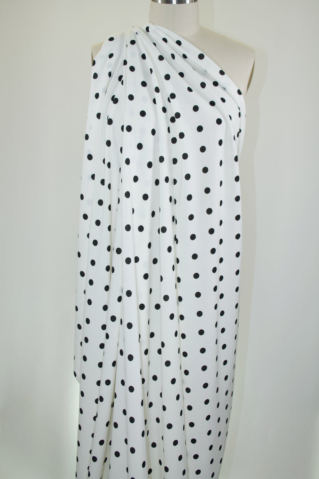 Dot's One Amazing Techno Crepe Knit - Black on Off-White