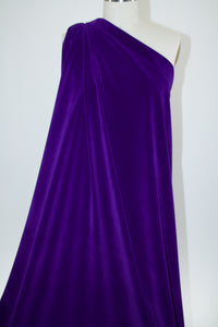 NY Designer Velvet - Royal Purple