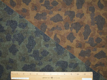 You Two-Faced Animal Wool Flannel - Greens/Browns