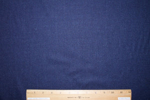 Huddersf!eld Italian Virgin Wool Flannel - Heathered Blue