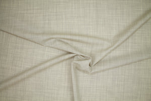 Italian Tropical Weight Stretch Wool - Ivory/Gray