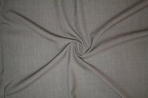 Italian Tropical Weight Worsted Wool - Heathered Taupe
