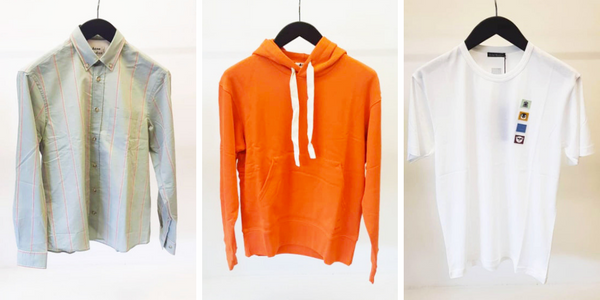 Three alternative pieces from Acne