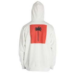 The Palm X Palm hoodie in white.