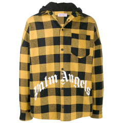 Yellow And White Palm Angels Flannel