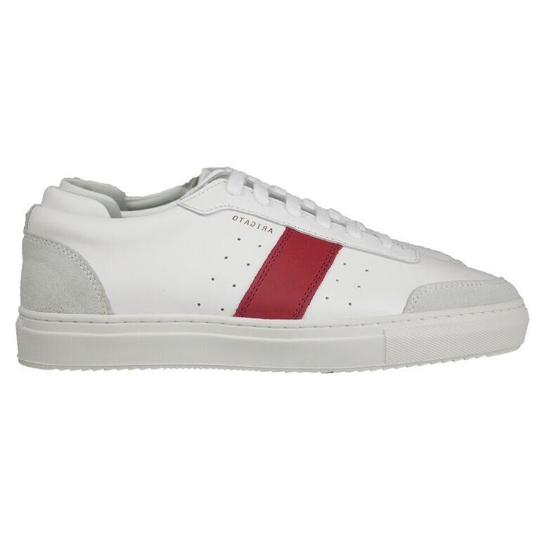 Dunk White/Red Leather - Side