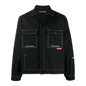 Print Jacket - Black | UNITED STANDARD