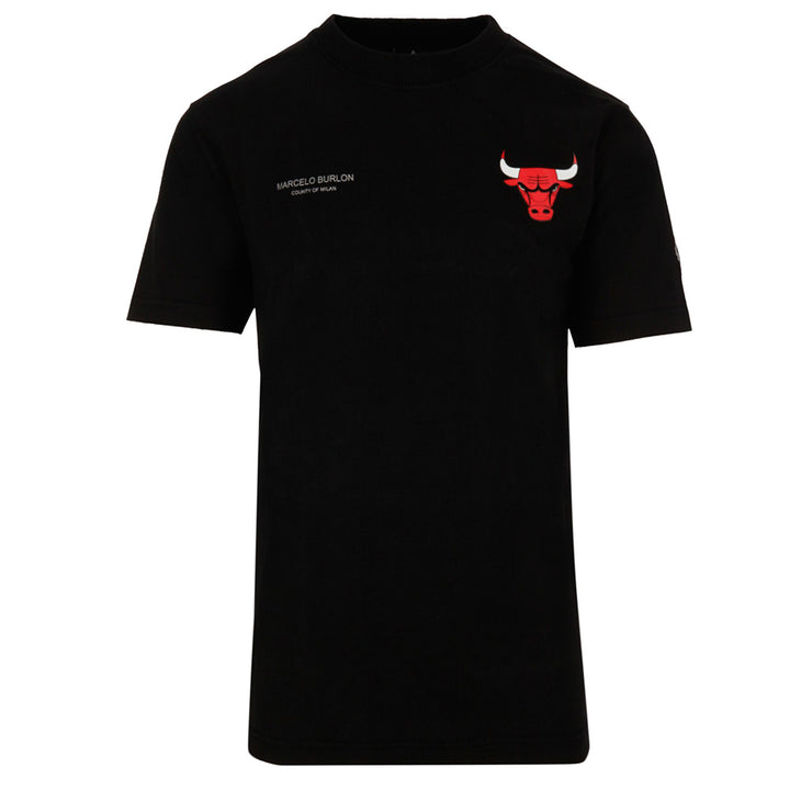 Chicago Bulls Mesh T-Shirt - Black | Marcelo Burlon