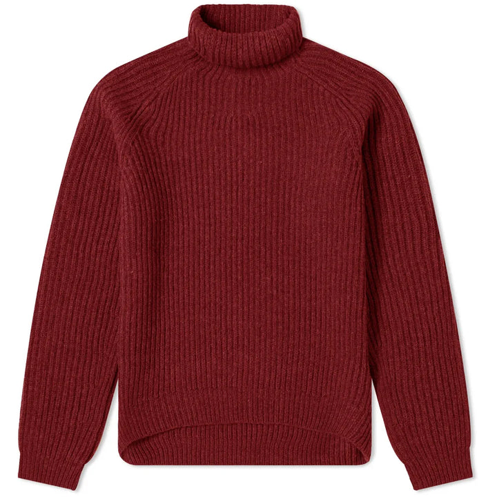Kally Sporty Wool Jumper - Red | Acne Studios