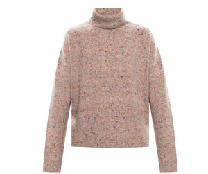 Acne Studios Pink High Neck Sweater