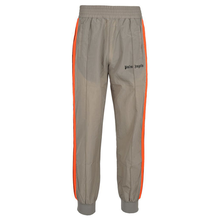 Palm Angels Loose Fit Grey Track Pants