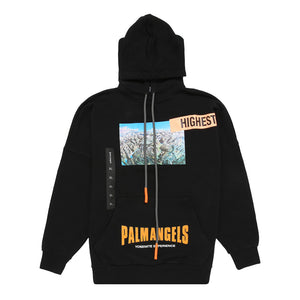 Palm Angels Yosemite Over Hoodie Black