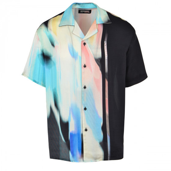 Represent Camp Silk Shirt Spectrum