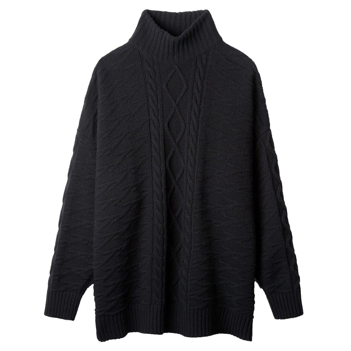 Gallagher Sweater - Black | REPRESENT CLO