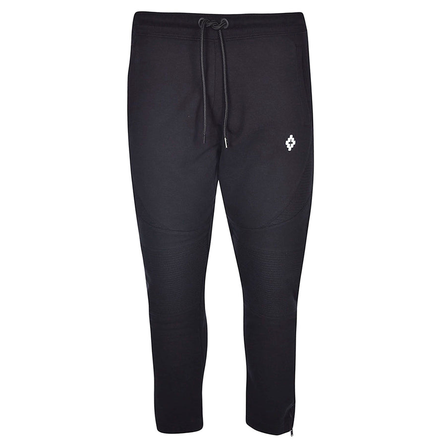 Cross Biker Sweatpants - Black | Marcelo Burlon
