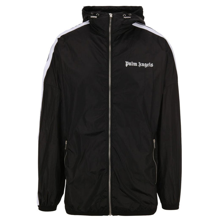 Track Windbreaker Jacket - Black | Palm Angels