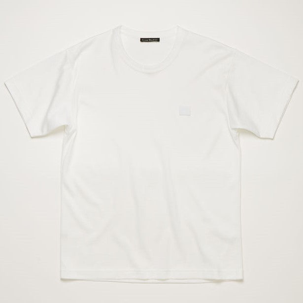 Nash Face T-shirt - Optic White | Acne Studios