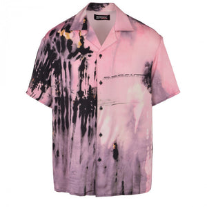Camp Silk Shirt - Pink | Represent