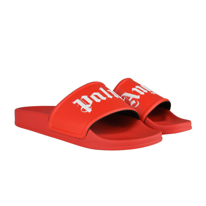 Palm Angels Pool Sliders Red
