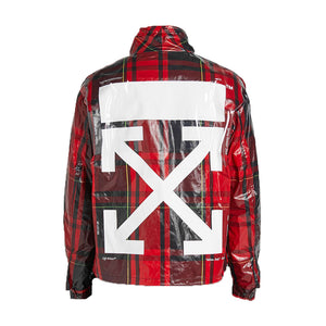 Checked Anorak Jacket - Red | Off-White