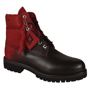 Lace Up Boots - Red Black | Marcelo Burlon X Timberland