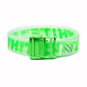 Industrial Rubber Belt - Green | Off-White