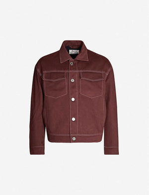 Magnite Cotton-Twill Jacket - Brown | Acne Studios