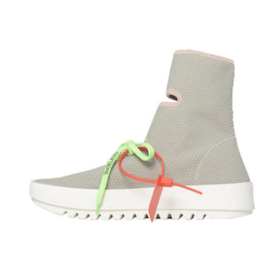 Moto Wrap Sneakers - Light Grey | Off-White