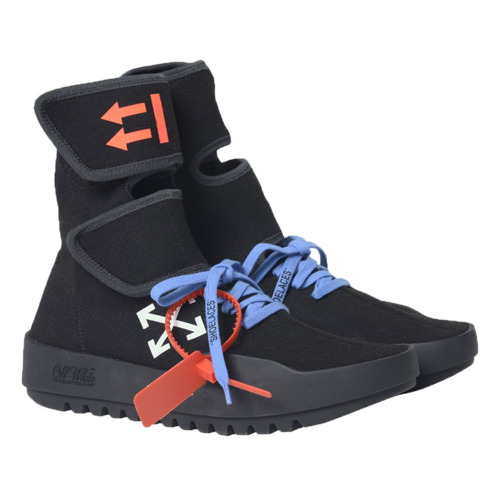 Moto Wrap Sneakers - Black | Off-White