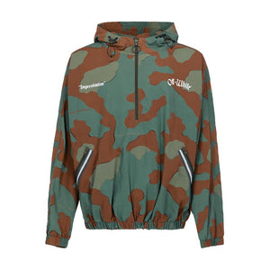 Camouflage Windbreaker Anorak - Camo | Off-White