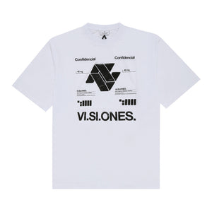 VI.SI.ONES Over T-Shirt - White | Marcelo Burlon
