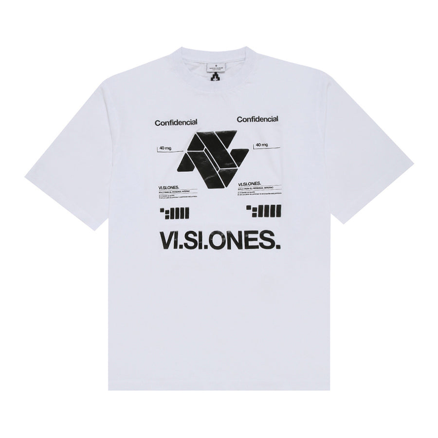 Marcelo Burlon VI.SI.ONES Over T-Shirt White