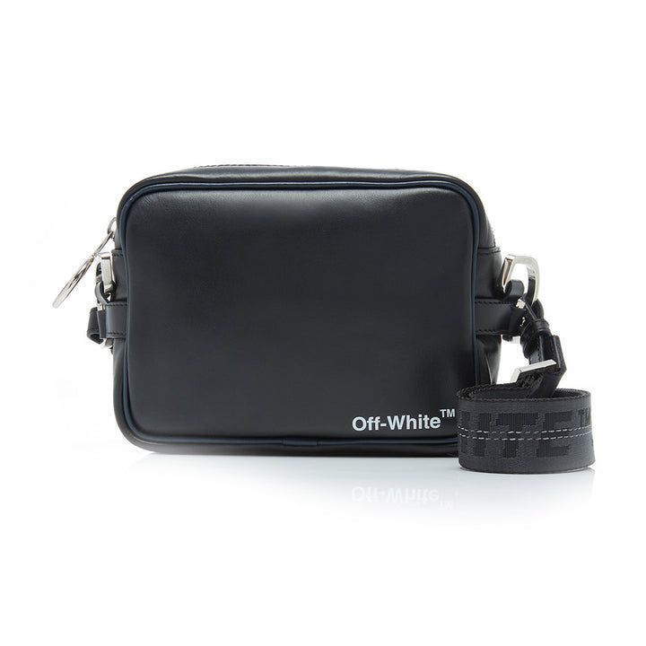 Off White Crossbody Bag Black