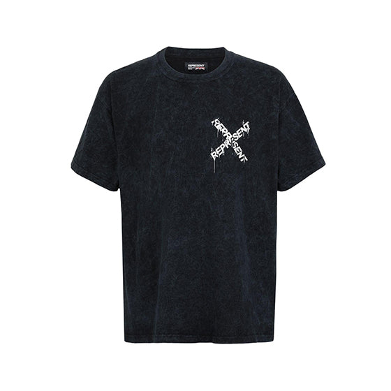Represent Destroyed T-Shirt Black