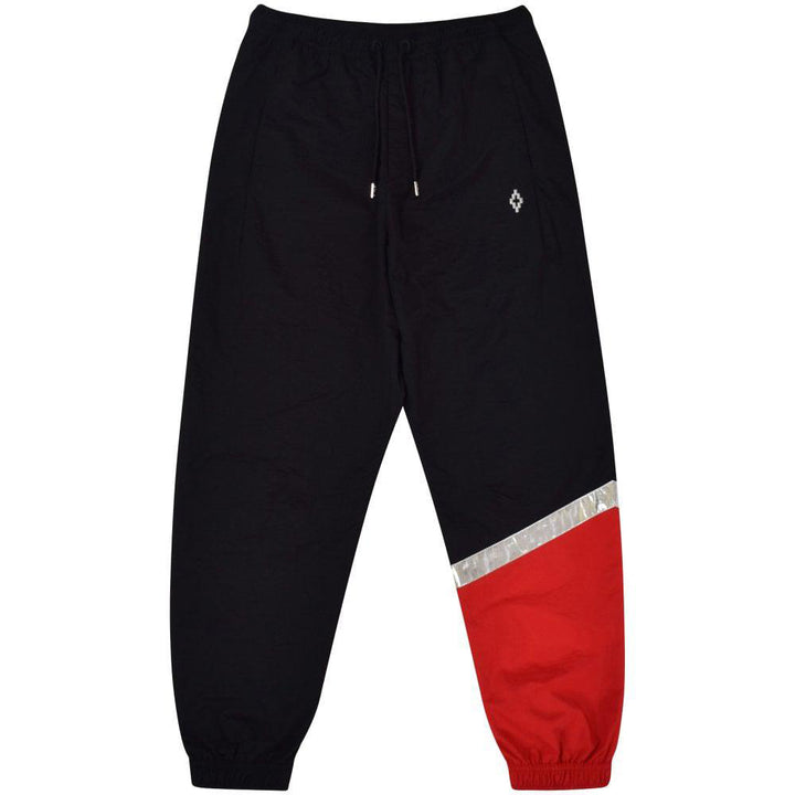 County Logo Pants - Black Red | Marcelo Burlon