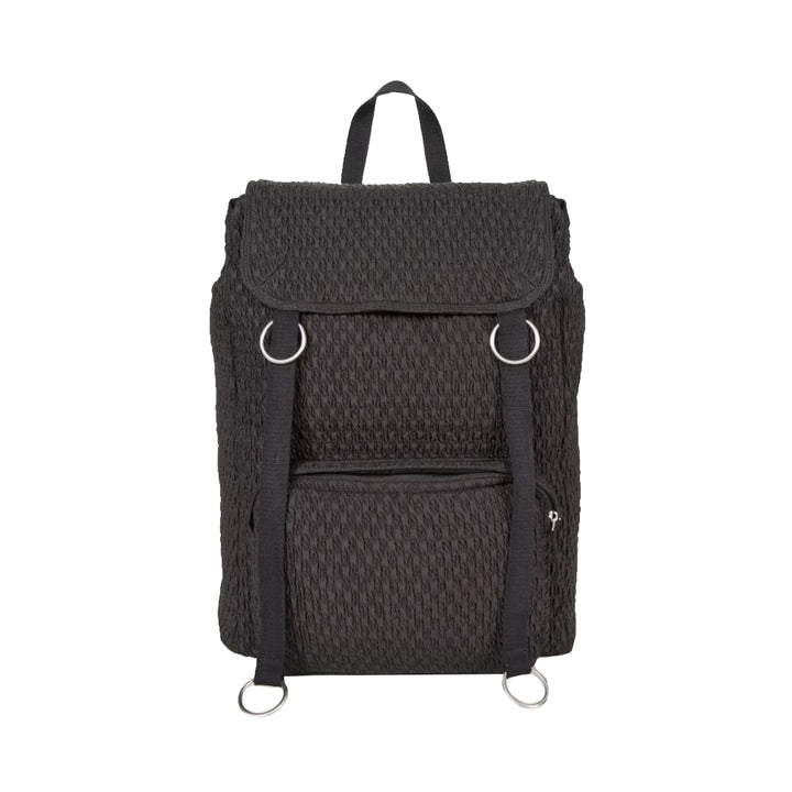 Topload Loop Backpack - Black Matlasse | EASTPAK X Raf Simons