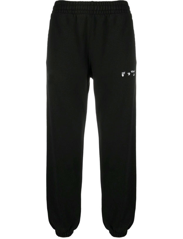 Off-White diagonal stripe track pants