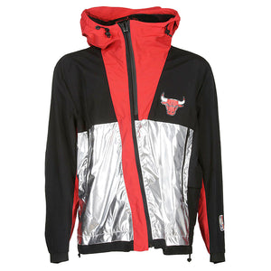 Chicago Bulls Windbreaker - Black Red | Marcelo Burlon