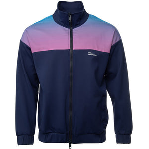 Shaded Satin Track Jacket - Purple | Drôle De Monsieur