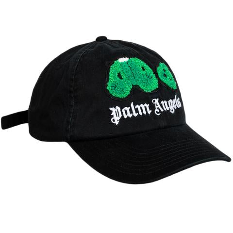Bear Cap - Black/Green | Palm Angels