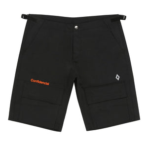 Confidencial Cargo Shorts - Black | Marcelo Burlon