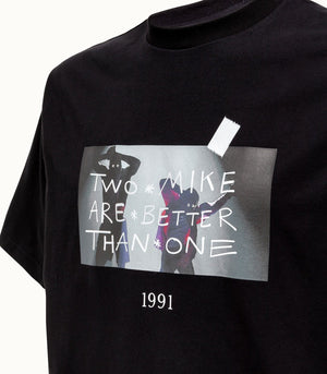 Throwback TBT-Mike2 Tee Black